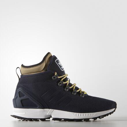 adidas ZX Flux Winter Shoes Collegiate Navy