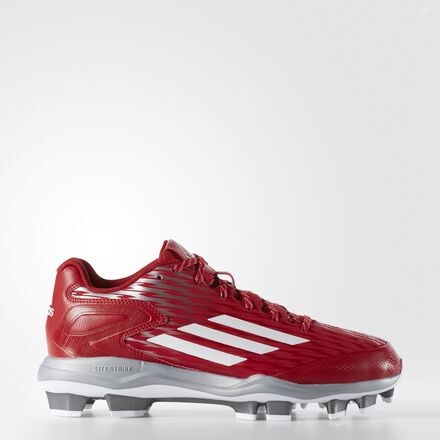 adidas PowerAlley 3 Cleats Power Red