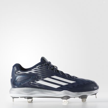 adidas PowerAlley 3 Cleats Collegiate Navy