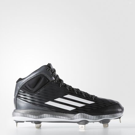 adidas PowerAlley 3 Mid Cleats Core Black
