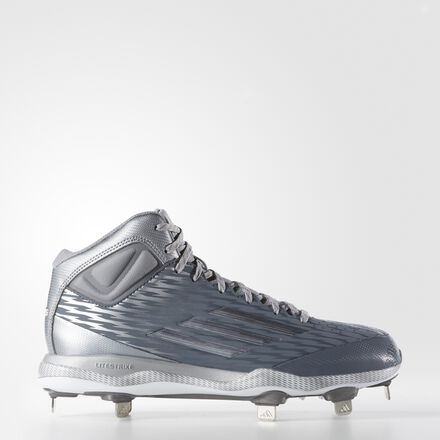 adidas PowerAlley 3 Mid Cleats Onix