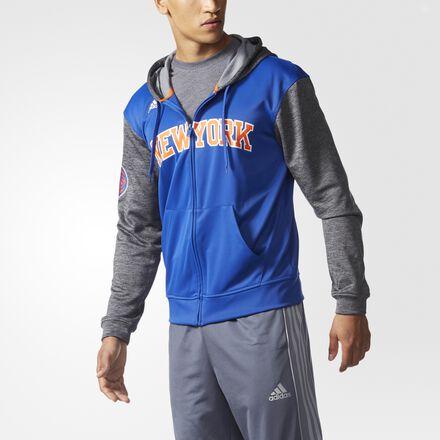 adidas Knicks Pre-Game Hooded Jacket MULTI
