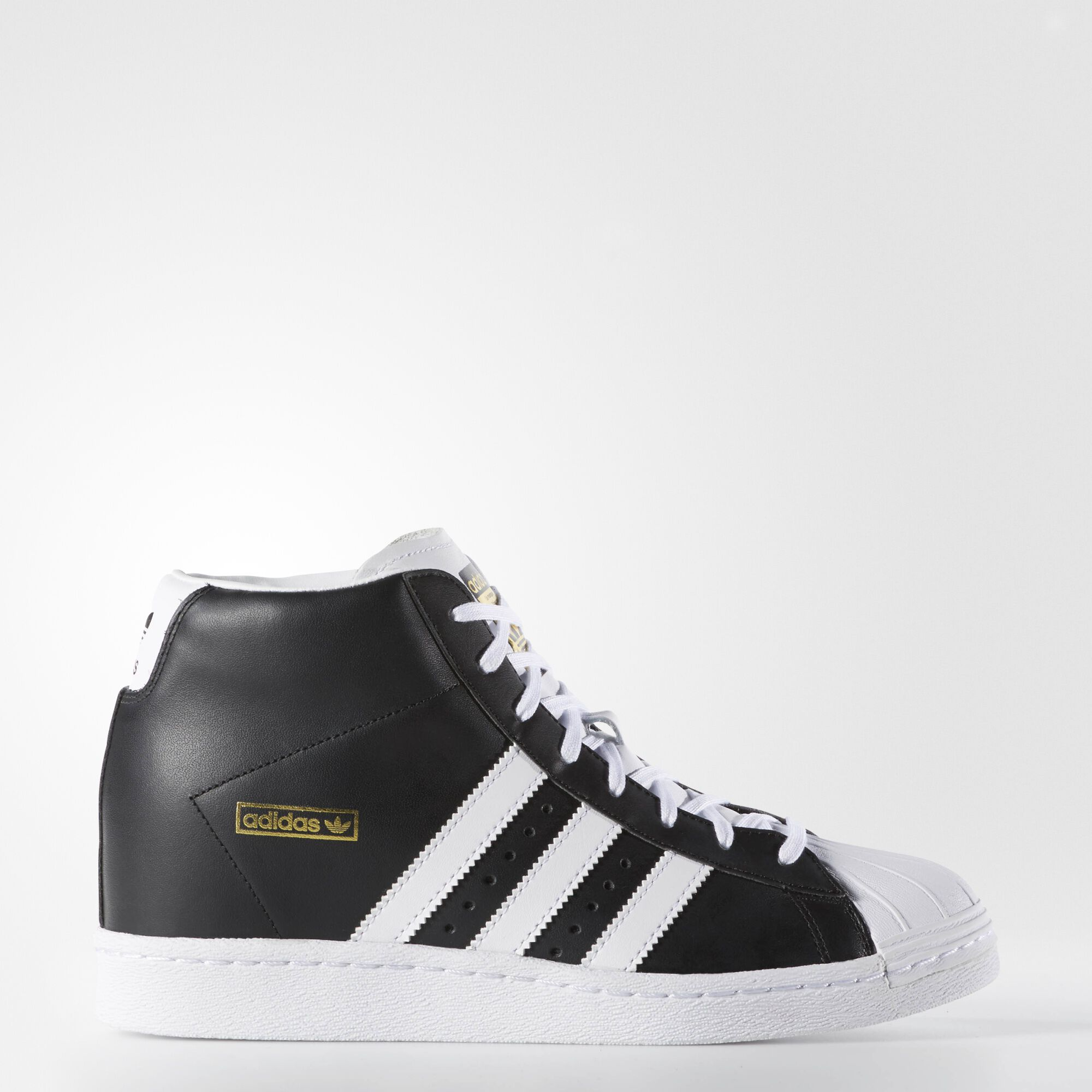 adidas SUPERSTAR UP Black/Black Hype DC