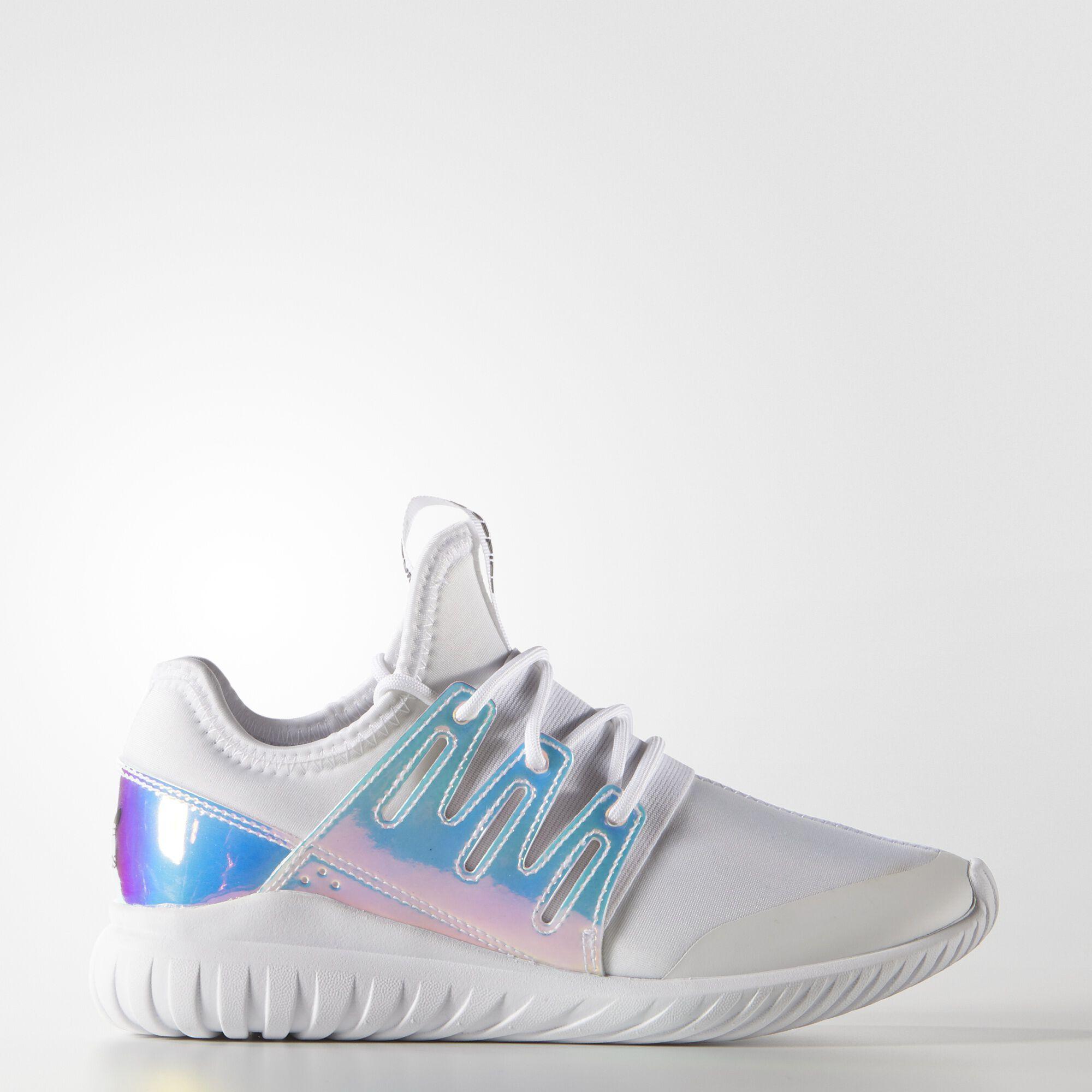 arrives ad791 4582c adidas Tubular Radial Shoes - White   adidas US