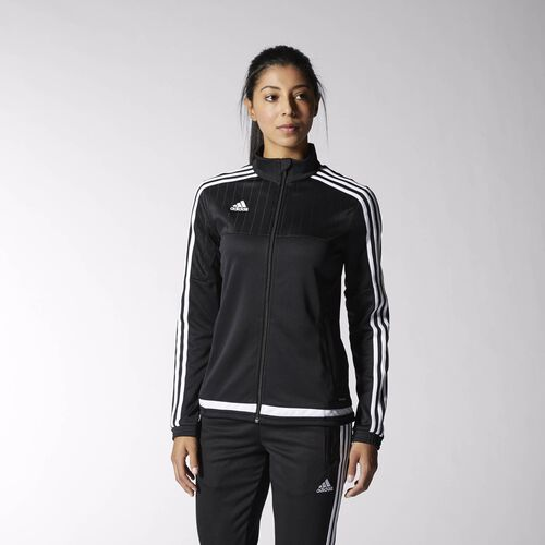 adidas - Tiro 15 Training Jacket Black  /  White  /  Black M64058