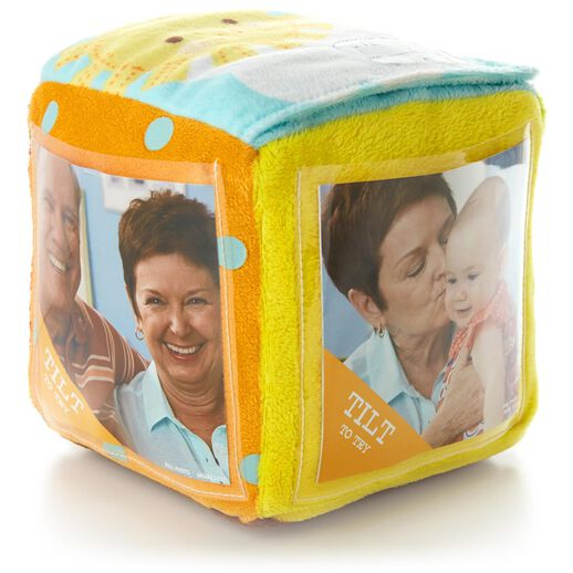 Recordable Plush Photo Block