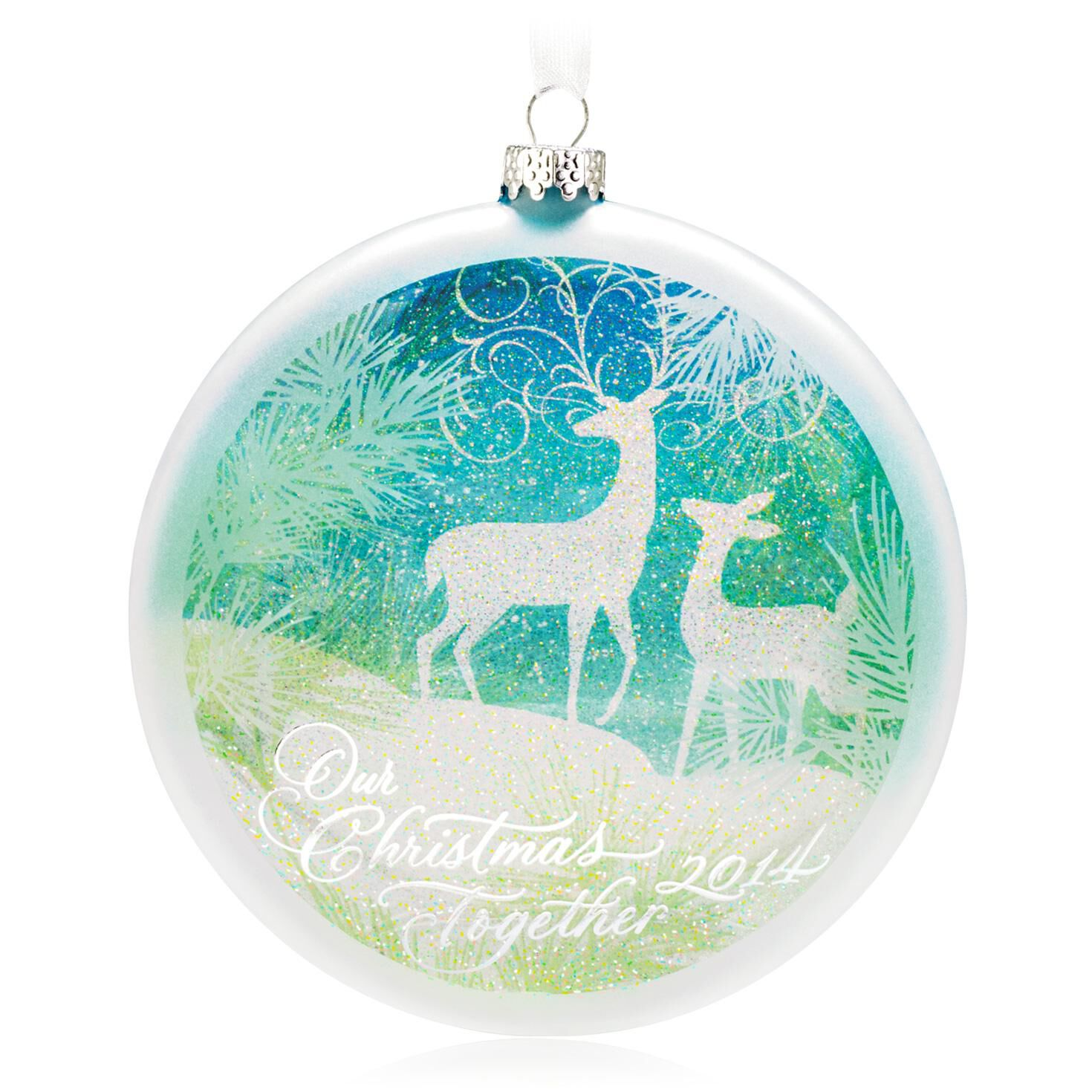 Our Christmas Together 2014   Christmas Ornaments   Hallmark 7v8Ao9U7