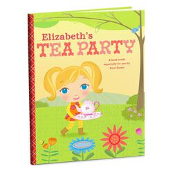 Tea Party Personalized Book, , large