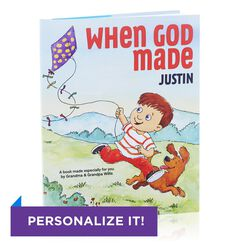 When God Made You Personalized Book, , large