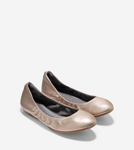 NYCB ZeroGrand Stagedoor Stud Ballet Shoes by Cole Haan