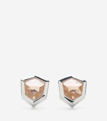Stone Stud Earring