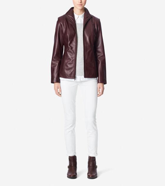 Outerwear > Modern Lamb Single Breasted Jacket