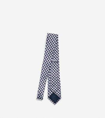 High Tide Gingham Tie