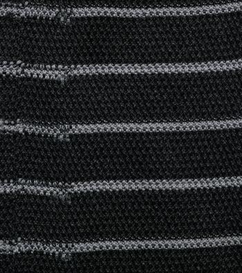 Textured Feed Stripe Crew