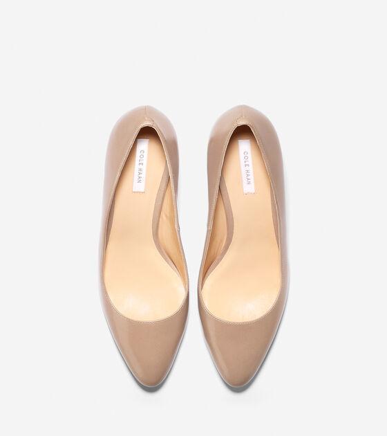 Bethany Pump (65mm) - Almond Toe