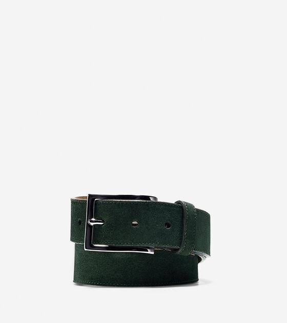 Accessories > 32mm Suede Belt