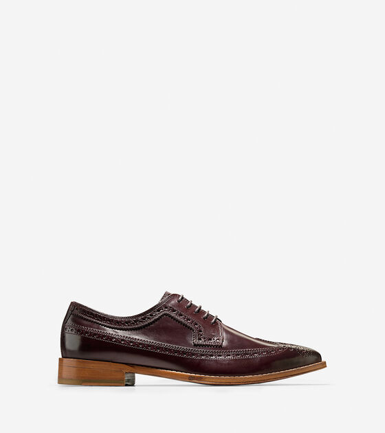 Shoes > Lionel Long Wingtip Oxford
