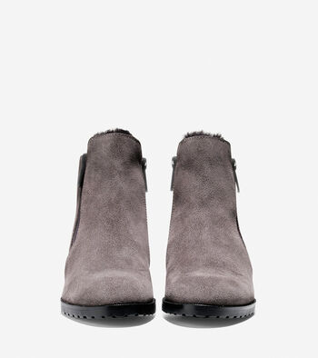 Oak Waterproof Shearling Bootie (40mm)