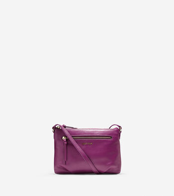 Magnolia Top Zip Crossbody