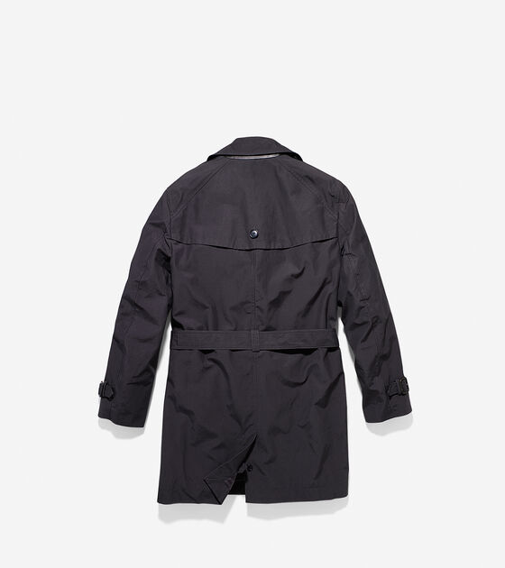 Waxed Cotton Double Trench