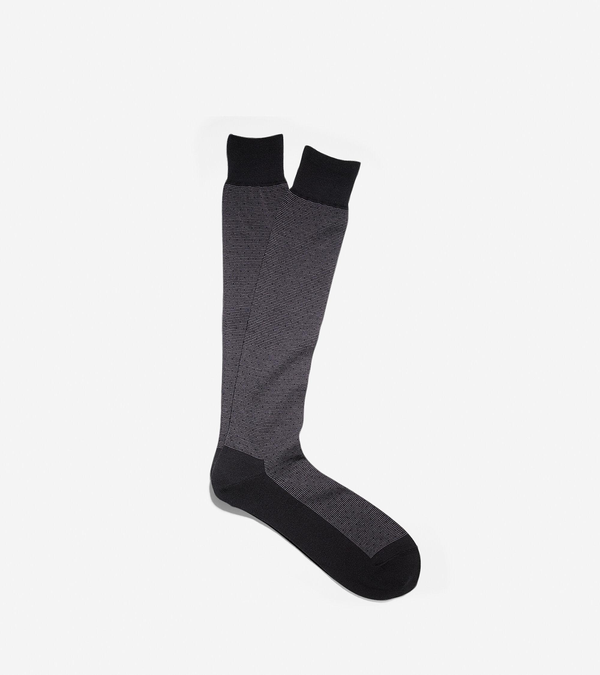 Basic Stripe Pin Dot Socks