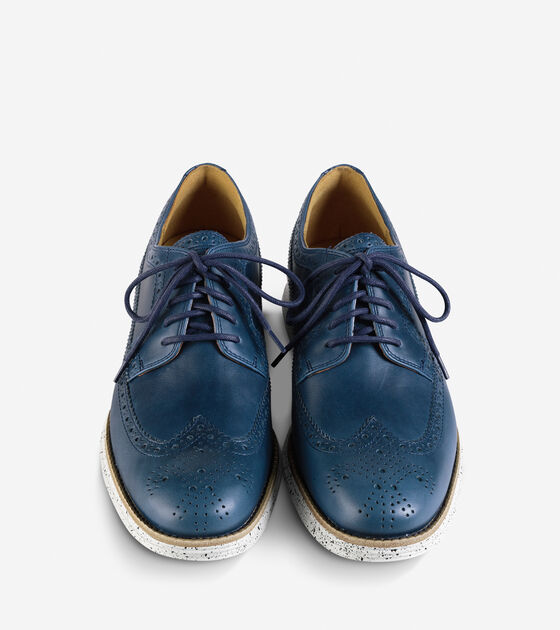 LunarGrand Long Wingtip Oxford
