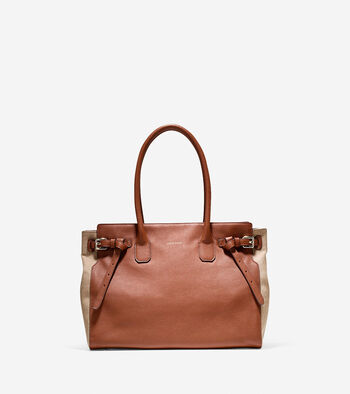 Emery Canvas Satchel