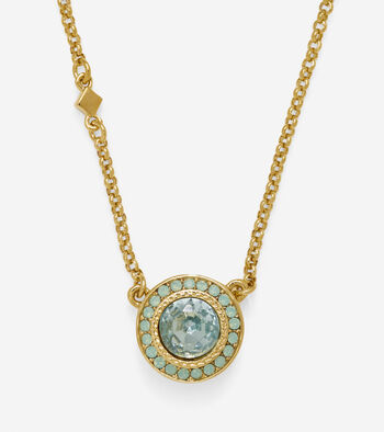 Swarovski Round Pendant Necklace