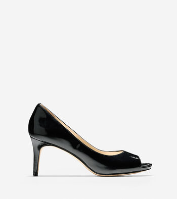 Bethany Open Toe Pump (70mm)