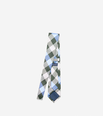 Even Plaid Tie
