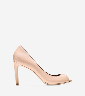 Fair Haven Open Toe Pump (85mm)