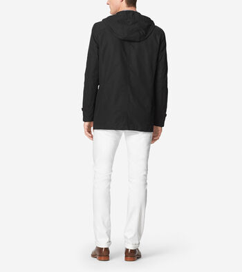 Cotton Twill Hooded Jacket