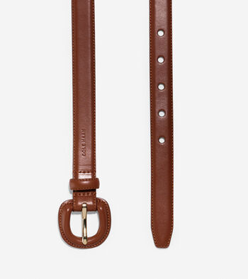 Feather Edge Leather Belt