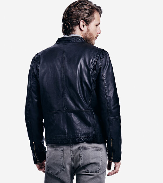 Vintage Lamb Moto Jacket