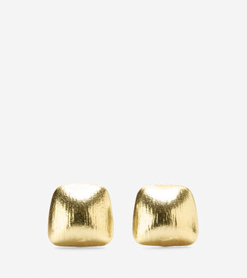 Smooth Geometric Stud Earring
