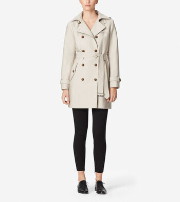Classic Hooded Trench