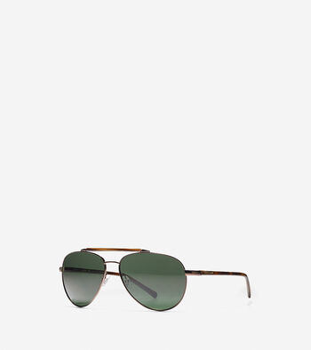 New Metal Aviator Sunglasses