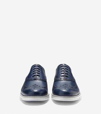 ZerøGrand Water Resistant Wing Oxford