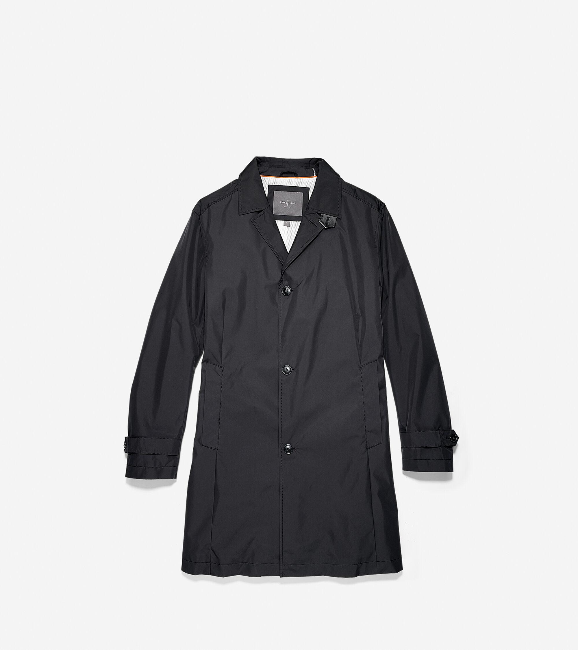 Outerwear > Coated Cotton Field Jacket
