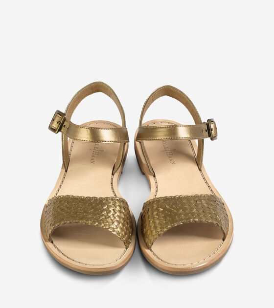 Reed Woven Sandal