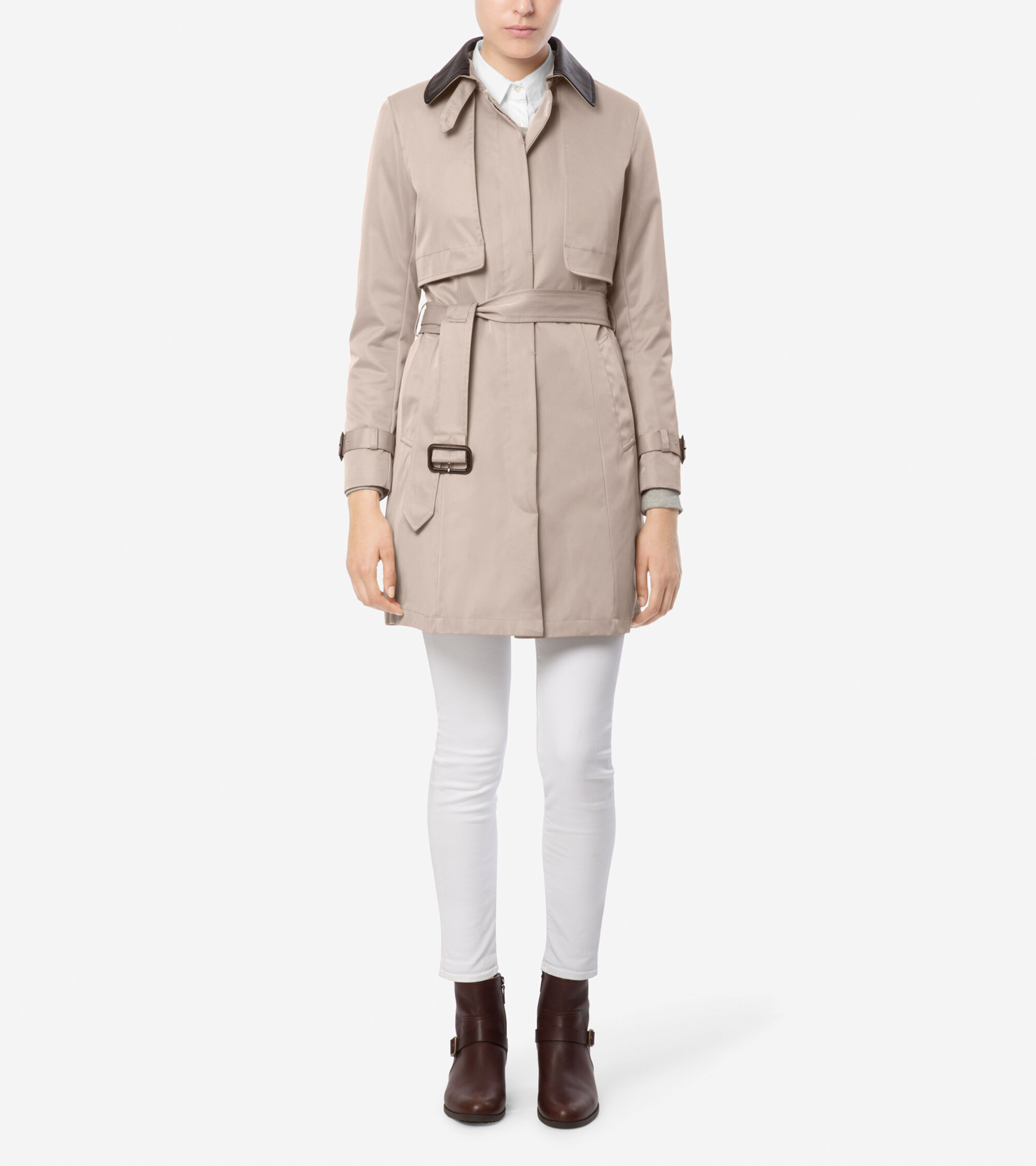 City Rainwear Single Breasted Trench