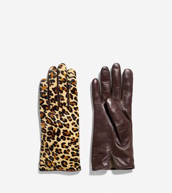 Haircalf Leather Gloves