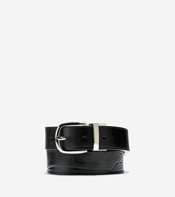 32mm Reversible Croc Belt