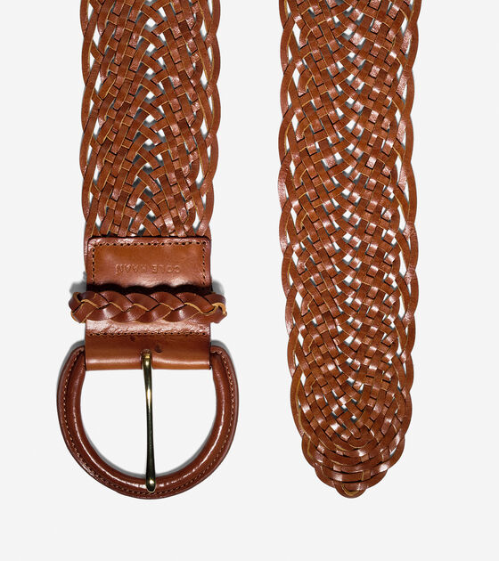 Thick Braided Belt