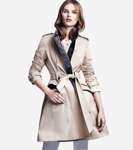 City Rainwear Trench Coat