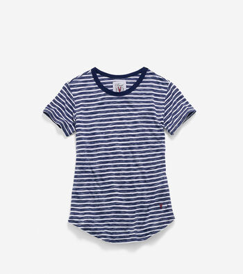 Women's Pinch Short Sleeve Jersey Tee