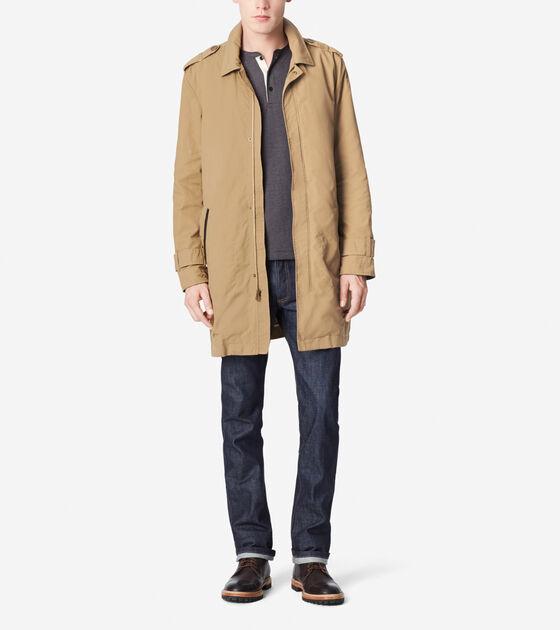 Outerwear > City Rain Waxed Cotton Jacket