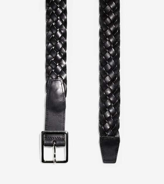32mm Flat Cut Braid Belt