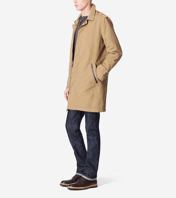 City Rain Waxed Cotton Jacket