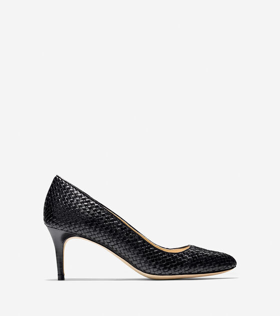 Shoes > Bethany Weave Pump (65mm) - Almond Toe